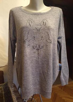 Стильный свитер,пуловер,джемпер от бренда clarina