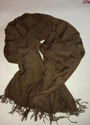 Большой шарф, палантин