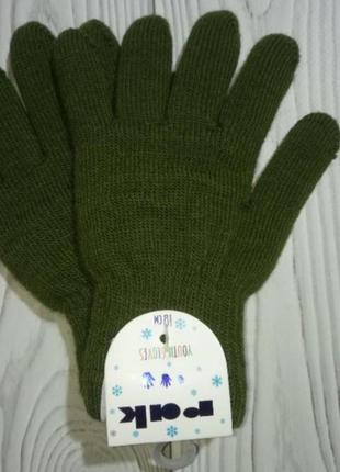 Теплые зимние перчатки