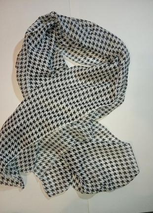 Легкий шарф гусиная лапка