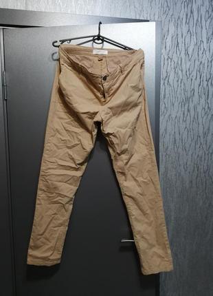 Хлопковые брюки чиносы