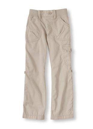Распродажа! хлопковые брюки-бриджи 2-в-1 children's place на д...