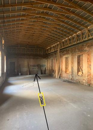 Аренда помещения с кран-балкой
