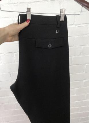 Классические брендовые чёрные мужские брюки штаны iceberg итал...