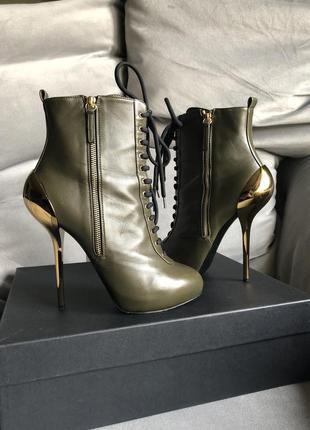 Брендовые ботильоны ботинки полусапожки giuseppe zanotti {ориг...