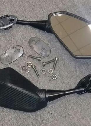 Мотозеркала в обтекатель универсальные Yamaha/Suzuki/Honda