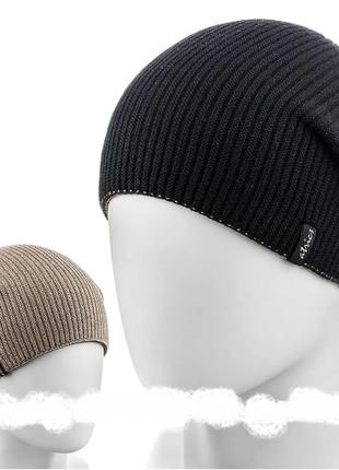 Комплект  шапка двусторонняя  + шарф