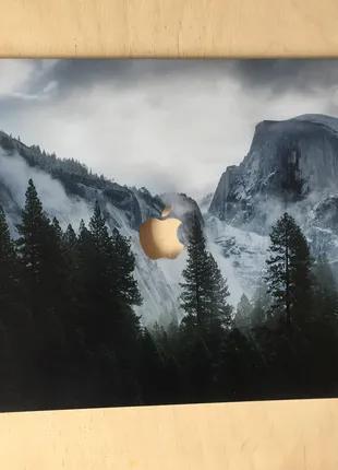 Пластиковый чехол с принтом на Macbook Pro Retina 13 (А1502)