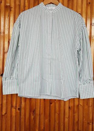 Рубашка  mango в полоску