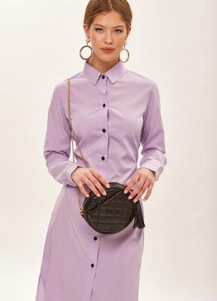 Платье рубашка lavender fog new! 🔥