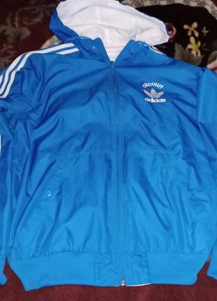 Двусторонняя ветровка-куртка all-court adidas