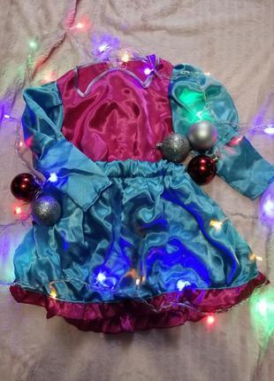 Новогодний костюм принцесса ❄️ручная работа