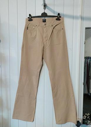 Женские стрейчевые коттоновые брюки италия gucci
