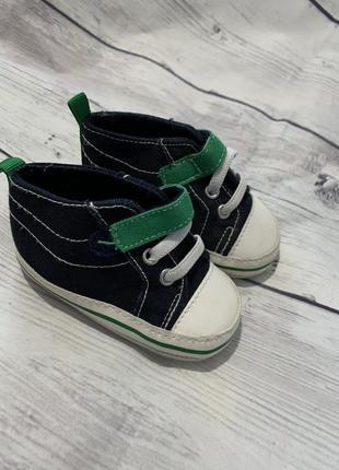 Кеды , кроссовки , пинетки 3-6 месяцев