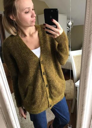 Шикарный свитер цвета хаки /объёмный свитер цвета хаки