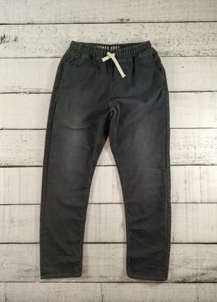 Джоггеры джинсы на манжете на подростка 170