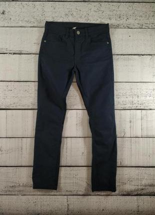 Синие джинсы на мальчика 146