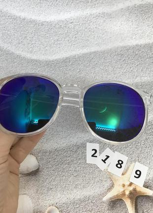 Солнцезащитные очки синие к. 2189