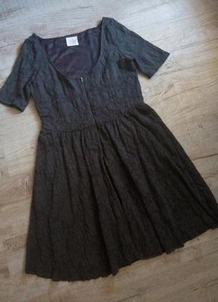 Zara trafaluc супер красивое платье на осень