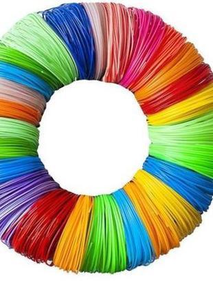 Набор пластика для 3D Ручки 12 цветов PLA стержни пластика 3D ...