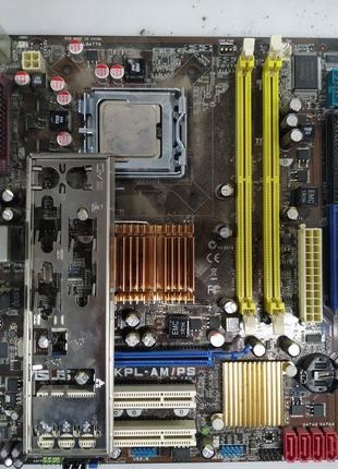 Материнская плата Asus P5KPL-AM/PS (s775, G31) процессор Celeron