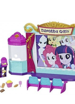 Игровой набор HASBRO small DOLLS MY LITTLE PONY Кинотеатр (C0409)