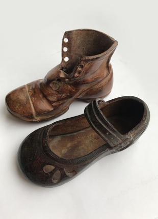 Декоративные туфли пара