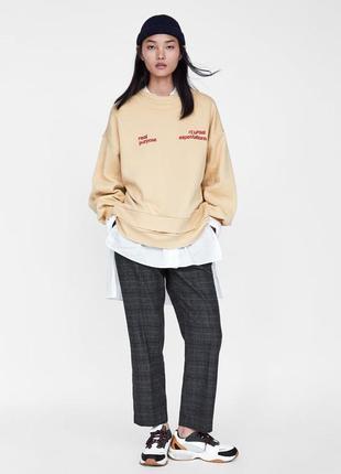 Фирменные брюки zara, размер m