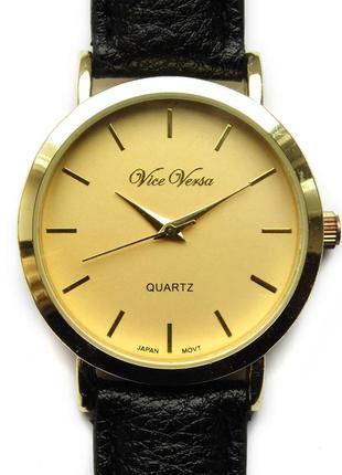 Vice versa 1524 классические часы из сша механизм japan