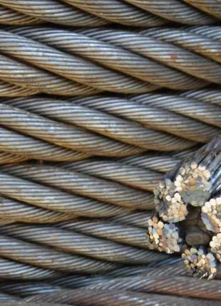 Канат стальной. канат стальной оцинкованный. трос стальной