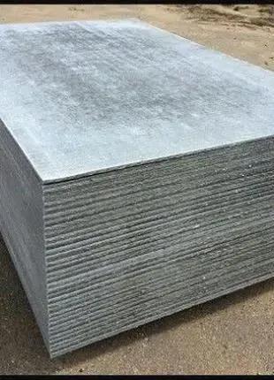 Шифер плоский, асбестоцементные листы, розница от 1 шт