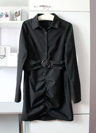 Стильное платье рубашка от prettylittlething