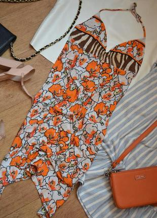 Платье roberto cavalli оригинал летнее сарафан обтягивающий