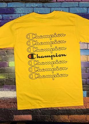 Champion футболка • бирка оригинальная • с вышитым лого• т