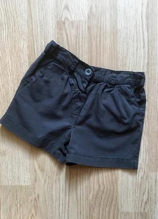 Фирменный шорты, шортики для девочки next, р. 3-6 месяцев