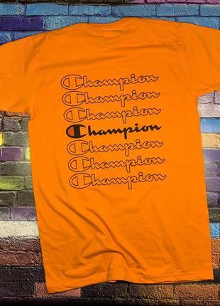 Champion футболка • ориг бирки • с вышитым лого• топ качество