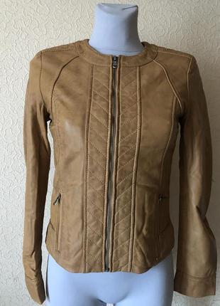 Кожаная куртка effetto d'italia ( италия)