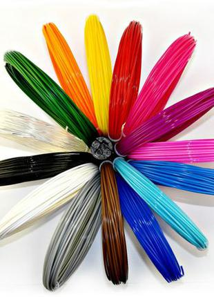 Набор пластика для 3D ручки 20 цветов (200м) Скидка только три...