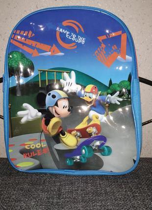 Детский рюкзачок рюкзак микки маус