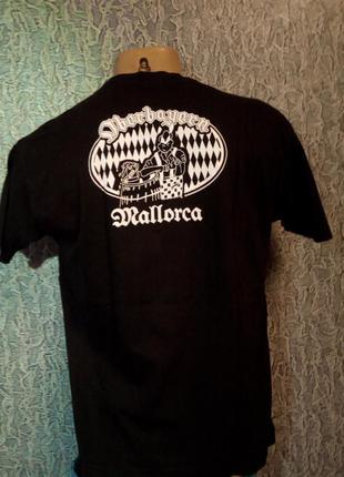 Черная футболка, 100% котон. бангладеш.