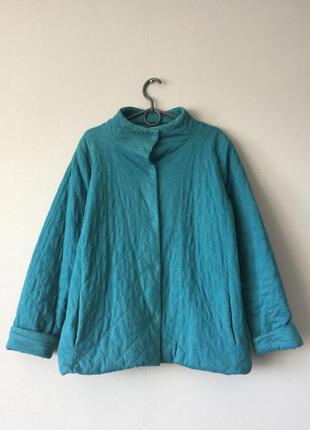 Куртка стеганная lands 'end 14-16--50-52 размер.