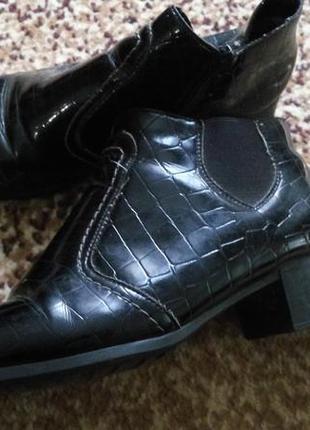 Сапожки ботинки весенние