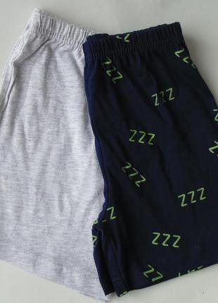 Пижама набор 2 шт. пижамные шорты 4-5 лет primark