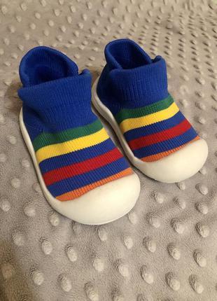 Тапочки - носки мокасины кроссовки аналог attipas