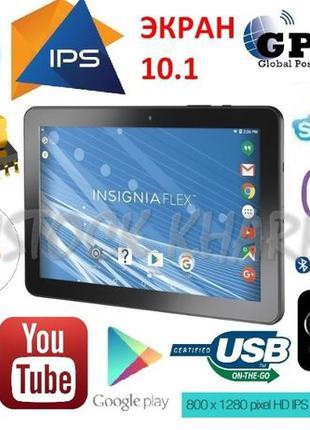 Огромный игровой планшет-навигатор GPS из США! IPS 10.1! 4 ядр...