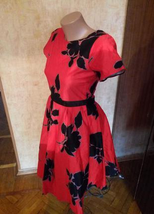 #розвантажуюсь шикарное платье в ретро стиле от next  англия