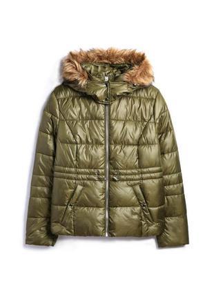 Шикарная дутая куртка , пуфер в стиле zara. пуховик. дени куртка