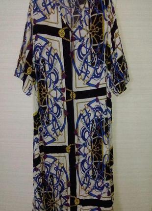 Красивое платье туника в винтажном стиле
