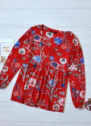 Красива блуза в квіти george