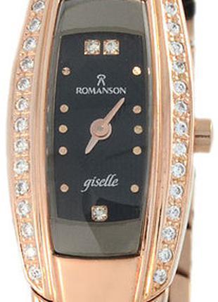 Женские часы ROMANSON романсон RM1123QLRG AR2 BK